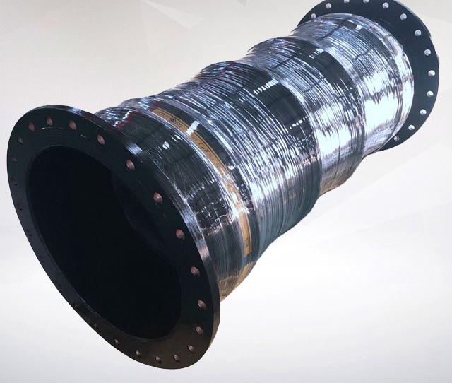 大口径胶管