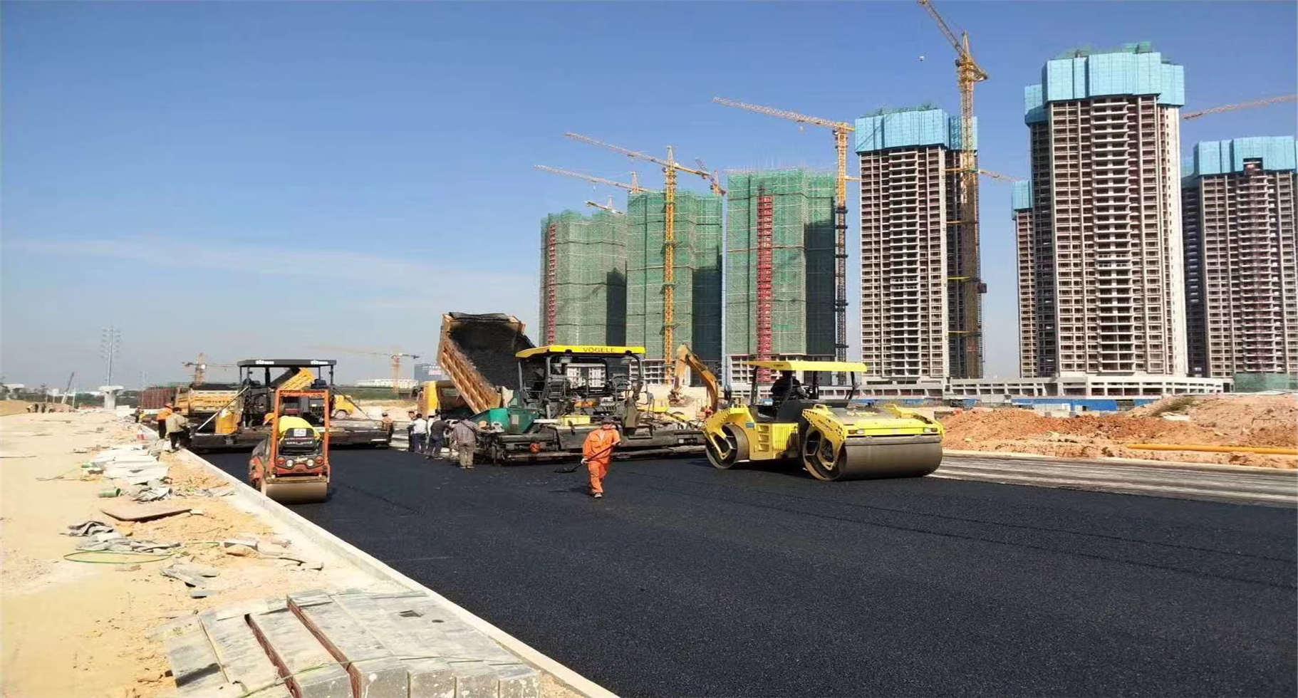 海珠专业的政道路沥青路面工程,热拌沥青混凝土生产