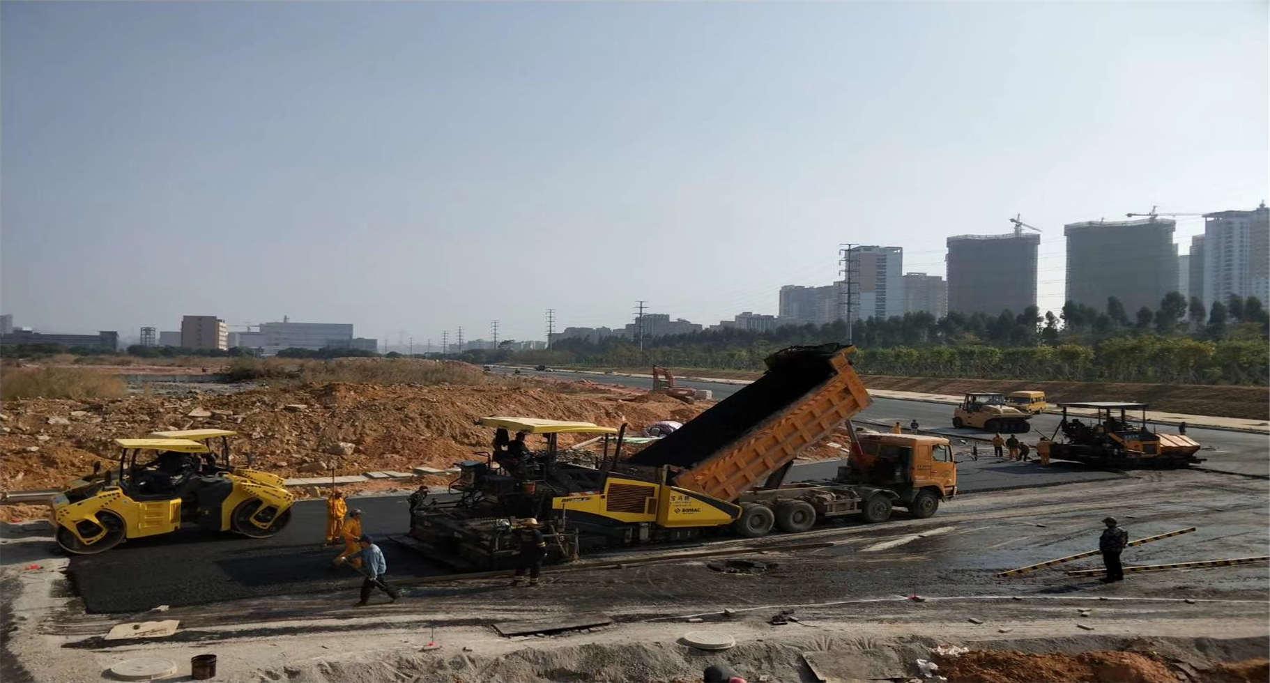 高要跑道沥青路面工程,沥青路面施工