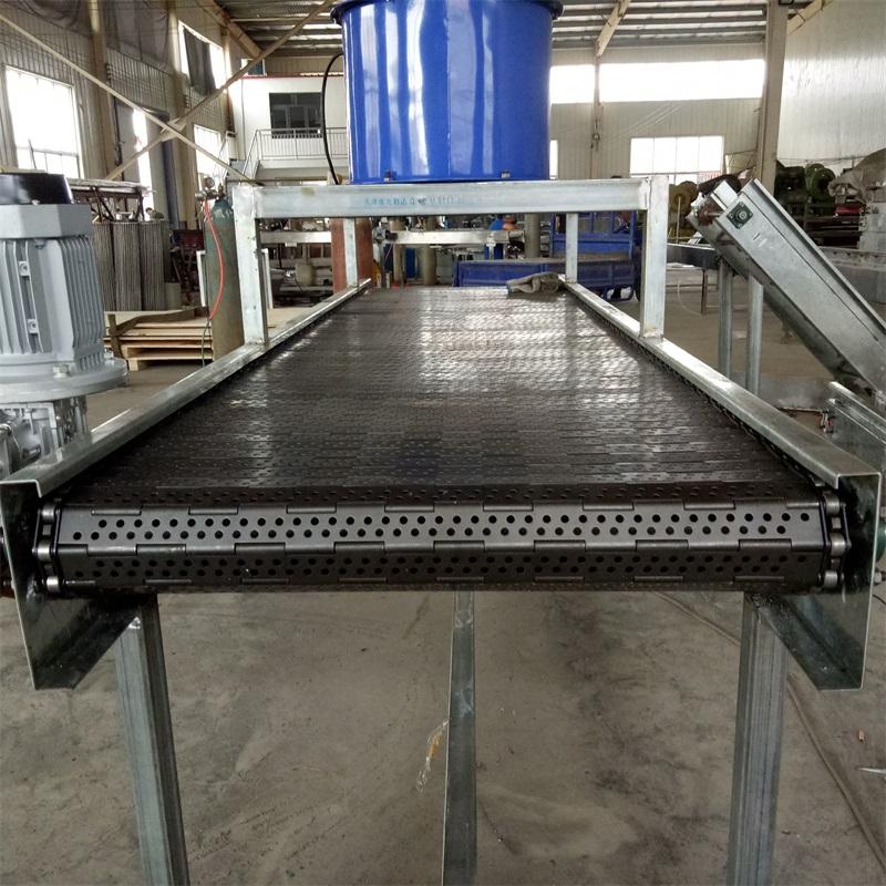 临沂食品菱形网带定制厂家,食品输送链板生产厂家